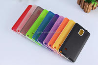 Note 4 Soft TPU Cellphone Case Translucent Matte two in one