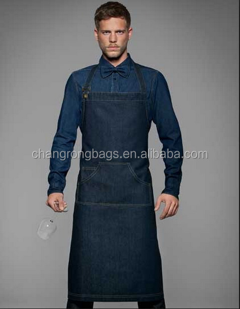 Custom Made Denim Bib Apron For Chef Wear,Vintage Cooking Aprons ...