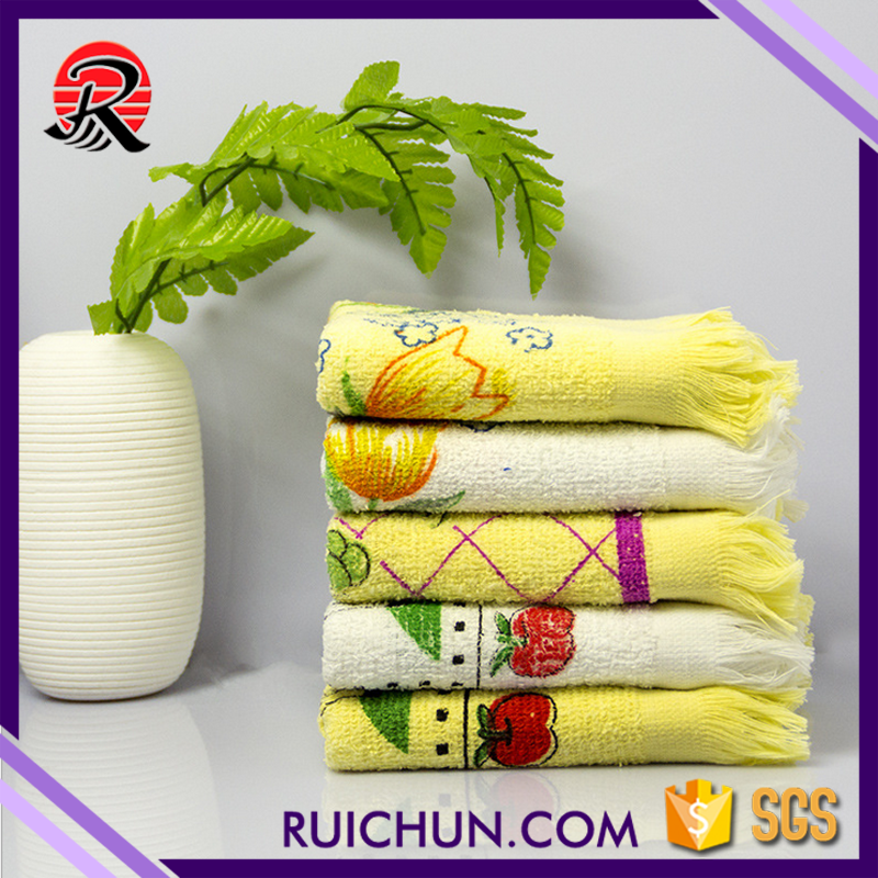 Low MOQ low shipping cost cotton terry custom printing tea <strong>towel</strong>