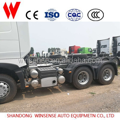 Chinese Sinotruck 6x4 Tractor truck horse 371hp tractor head for highway transporting