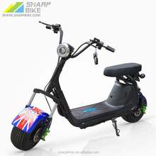 60V 12Ah 1000W Hign Power Citycoco Electric Scooter