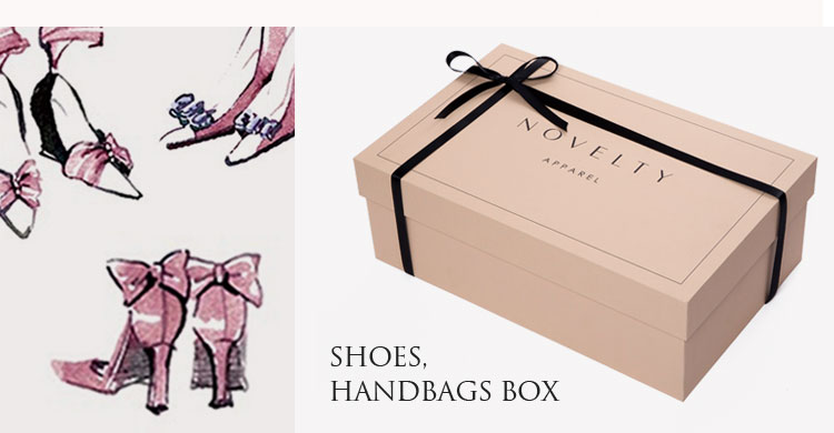 Luxury personalized glossy custom paper gift packaging box wholesale