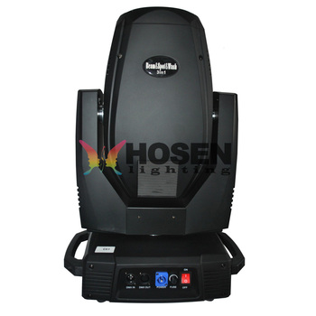New arrival 350W 17R beam spot wash 3in1 moving head light with Zoom