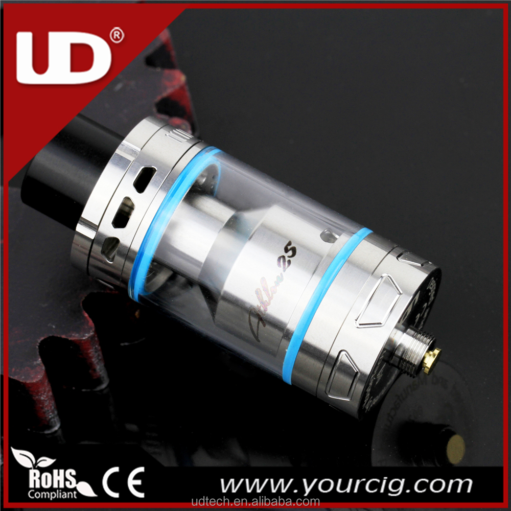 UD new arrival atomizer rta Athlon 25 Stainless Steel/Black color vape atomizer 4ml tank