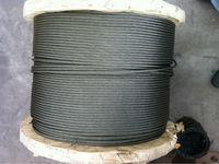 6x36 ungalvanized steel wire rope