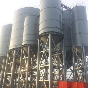 Galvanized steel bolted type building grain silo