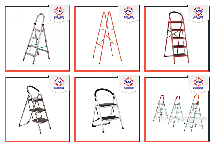 China Products Multipurpose Unfolding Aluminium Ladder