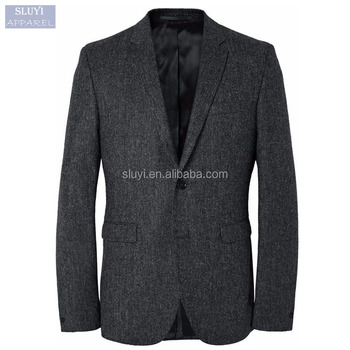 2017 Men Wedding Suits Pictures Dark Gray Causal Slim Fit Mens ...