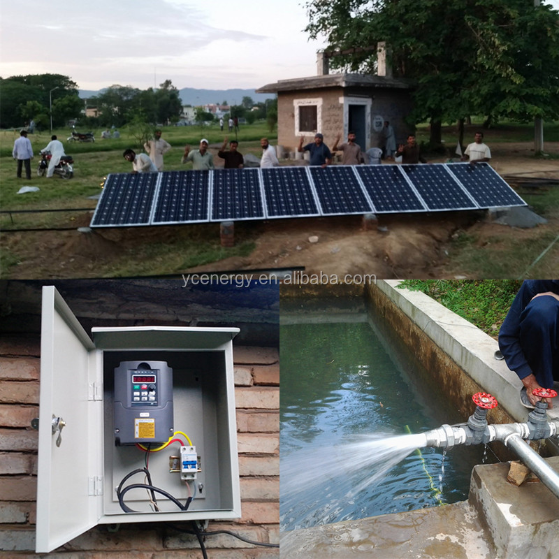 Solar Energy System Water Pump Irrigation Or Home