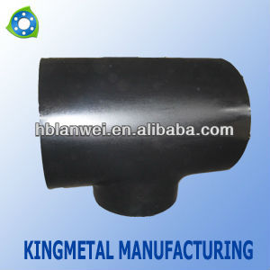Butt-welding Carbon Steel Pipe Tee / Pipe Fitting