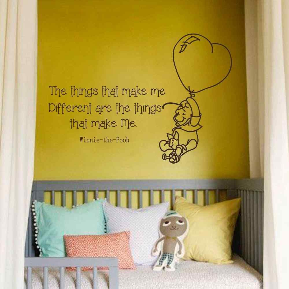 Buy BATTOO Winnie the Pooh Wall Decal Quotes - The things that make ...