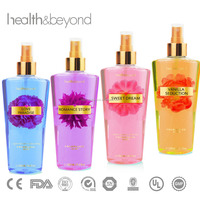 250ML hot sell secret body spray fragrance body mist perfumes and fragrances sexy body oil