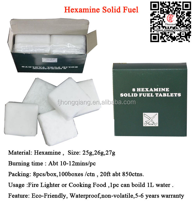 HongQiang Outdoor Military use Hexamine Solid Fuel Tablet