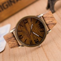2017 new model fashion wooden watch mens wrist watches in alibaba china