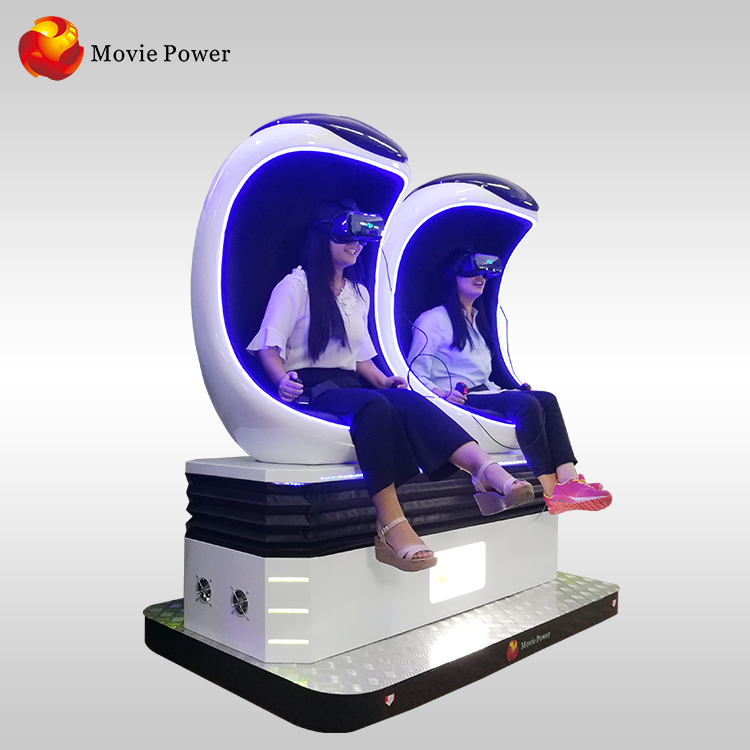Factory Price 9d virtual reality 9d egg chair 9d egg vr cinema by Movie Power