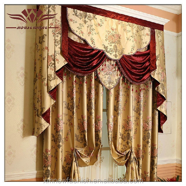 Rod Pocket Window Curtain,Curtains For Sale,Luxury Drapes Curtains ...