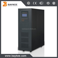 Low frequency single phase online ups external battery 6kva