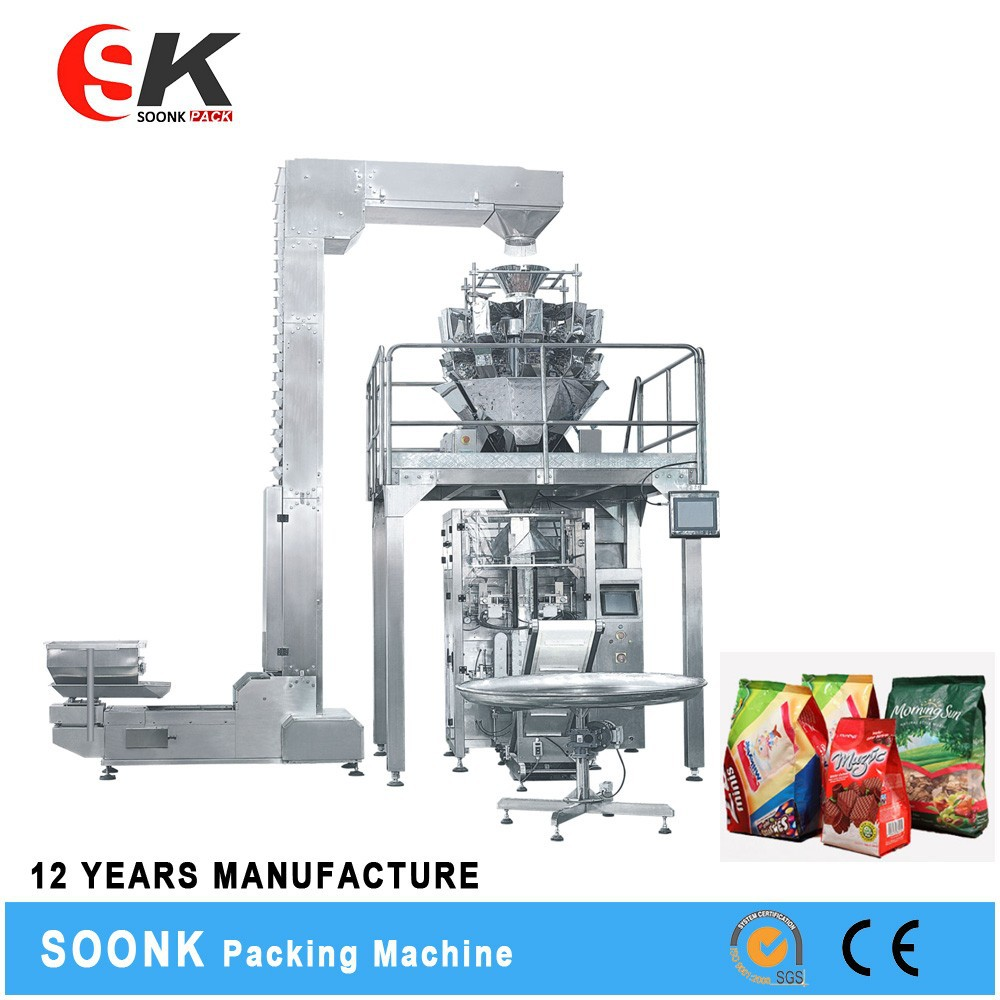 Widly Usage Cotton Candy Tube Coffee Packaging Machine