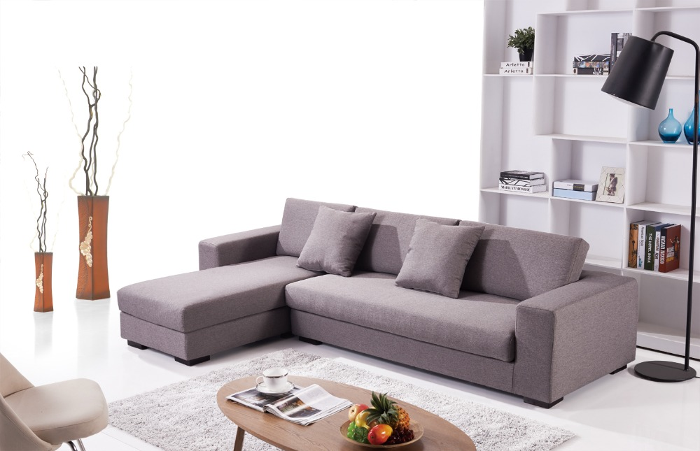 Modern L Shaped Upholstery Fabric Cover Sofa Designs And L Corner Sofa Sets  For Living Room