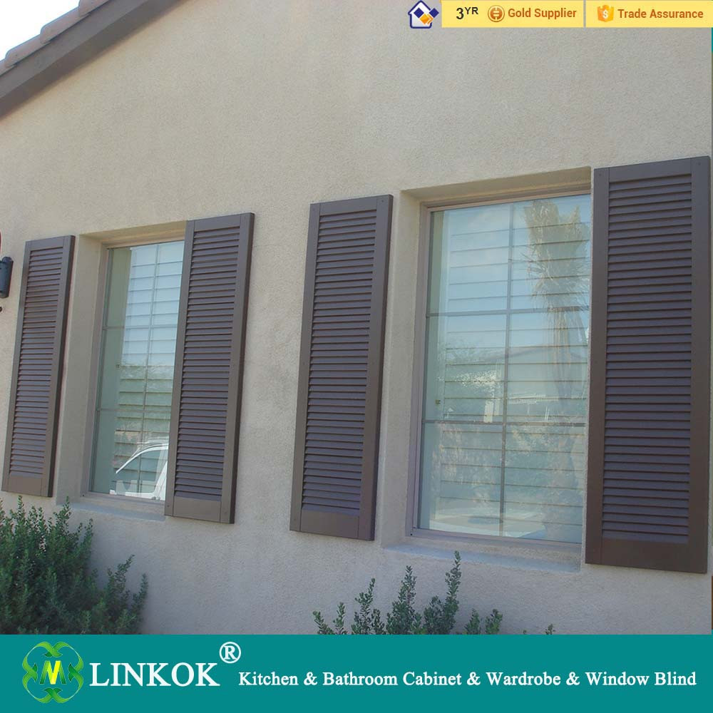 High quality exterior outdoor foldable door shutters from plantation ...