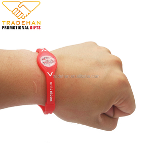 Adjustable Silicone Wristband Print /Debossed / Debossed Filledink Colour Silicone Bracelet