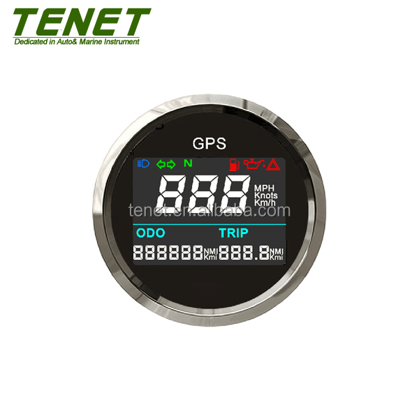 "Digital Internal GPS Speedometer 2"" for Motorcycle Boat Truck GPS Odometer"