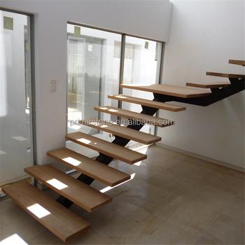 Custom Wood Stainless Steel Stair Stringer Price