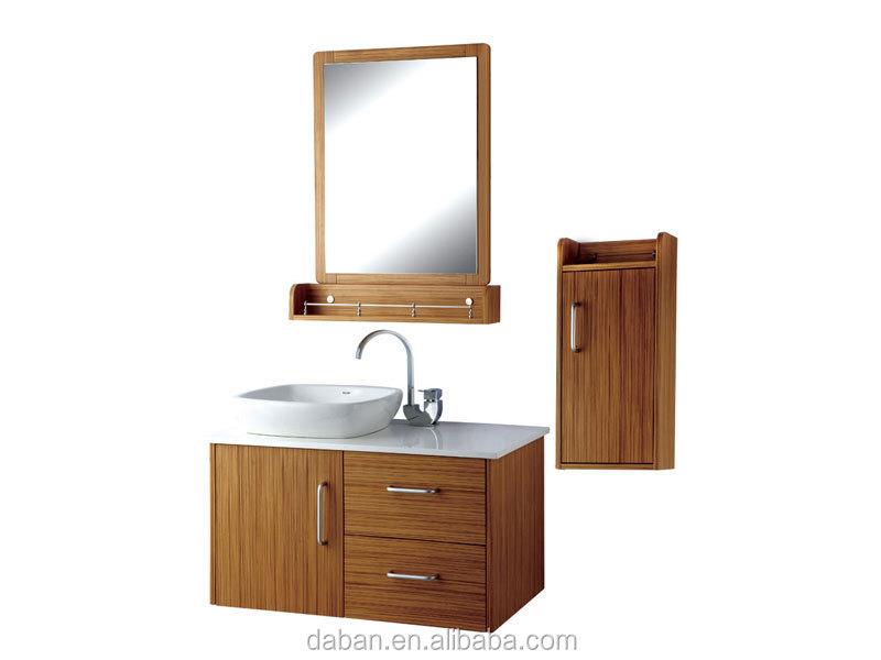 Waterproof Wood Bathroom Cabinet Vanity India Style In Smallbig
