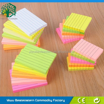 Leather Memo Pad, Colorful Sticky Notes, Small Spiral Notepads