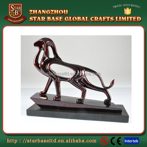 Resin abstract animal wholesale price personalized clay figurines for export
