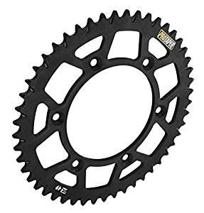 ProTaper 033220 Race Spec Aluminum Rear Sprocket - Black - 50T, Material: Aluminum, Sprocket Position: Rear, Sprocket Size: 520, Color: Black, Sprocket Teeth: 50