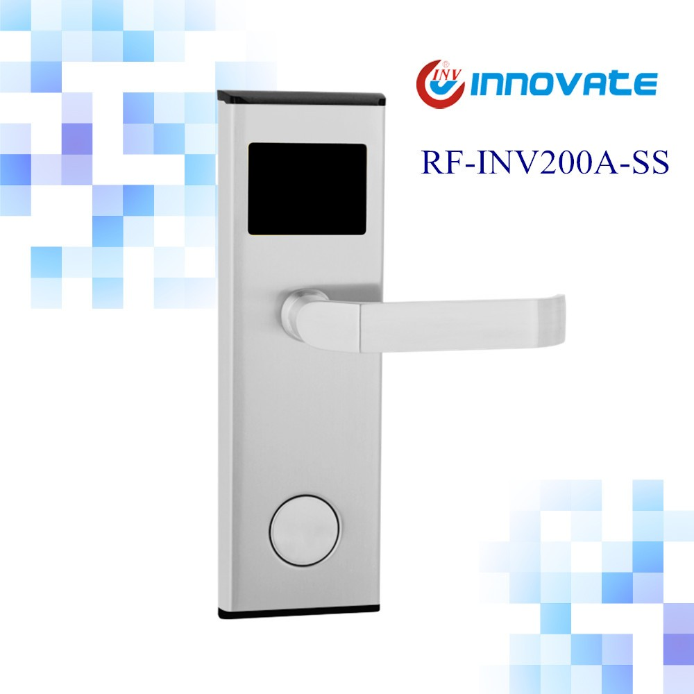 Remote control door lock Stainless steel rust-proof QR LOCK Phone app lock