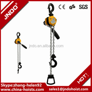 New Design Light Duty Lever Chain Block Ratchet Come Along 250kg 5 FT Lift Chain Hoist
