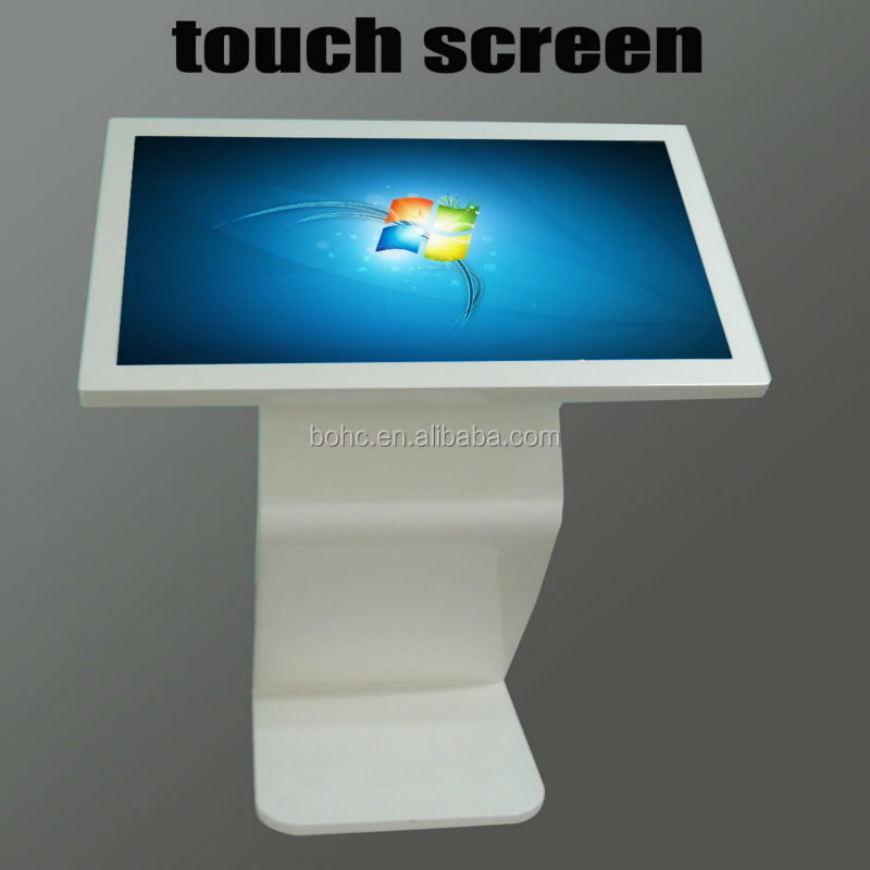 46 inch LCD monitors touch kiosk distributors canada