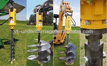 2014 new hydraulic auger motor earth drilling machine for Hydraulic auger motor for sale
