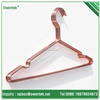 High quality copper metal hanger wire clothes hanger for display