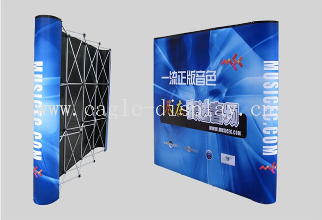 Exhibition Booth Backdrop : Eagle display advertising printed trade show pop up backdrop display