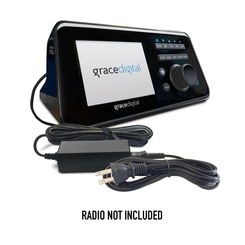 ABC Products® Replacement Grace DC 12V, 12 Volt Ac Mains Adapter Adaptor Power Supply Cord for Bravado, Bravado X, GDI-IRD4500M, Innovator X, GDI-IR2600, Primo GDI-IRCA700, GDI-IRMSAMP, GDI-IRMS300, Solo GDI-IRA500, Victoria Nostalgic GDI-IRN1941 Digital Portable DAB Radio etc