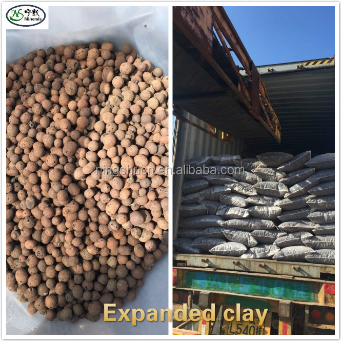 Peoples choice Growing medium Expanded clay pebbles for home pot uses