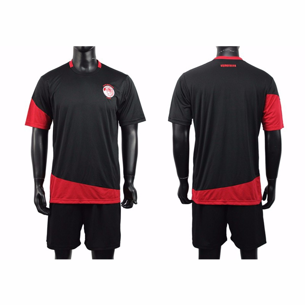 new product 9f66a de906 Dry Fit Material Plain Soccer Jersey Kits Cheap Football Uniform Red And  Black Color - Buy Cheap Soccer Jerseys Uniforms,Football Uniform Red And ...