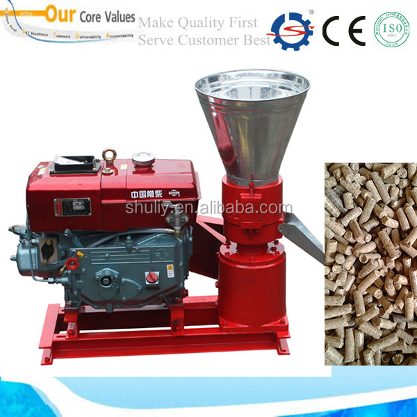 Food Pellet Machine /Chicken Feed Processing Equipment With CE 008613673685830