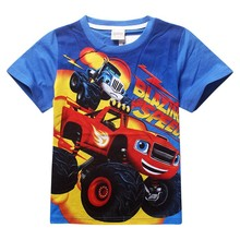 2015 boy s t shirt Spiderman 100 cotton short sleeved t shirt printing children s cartoon
