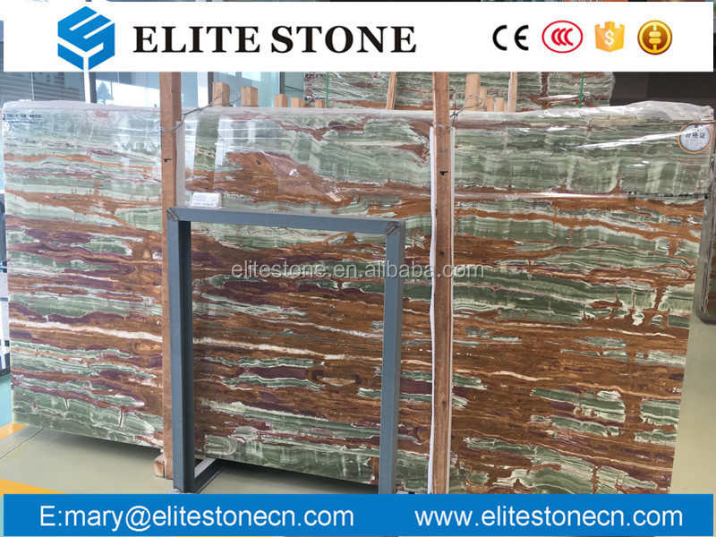 Best price high quality green onyx stone, Nature onyx for wall background