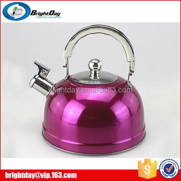kettle whistling camping tea kettle sliver kettle supplier