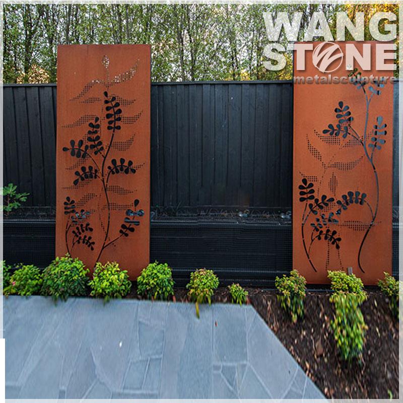 Corten Steel Garden Screens Garden Ftempo