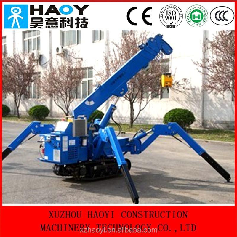 Spider Mini Crane,3ton Crawler Crane Price