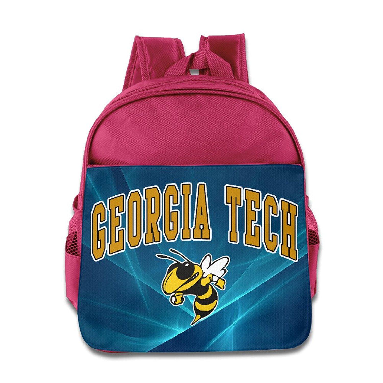 GA Tech Yellow Jackets Arch Over Kids School RoyalBlue Backpack Bag
