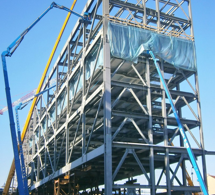 High Rise Easy Assembly Steel Structure Building for Hotel Warehouse
