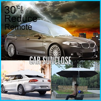 Sunclose Factory Indoor Outdoor Protection Canadian Tire Car Shelter Solar Charger Umbrella