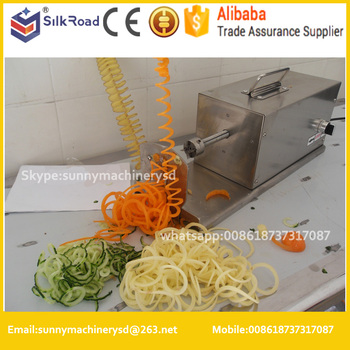 Wholesaleelectric Spiral Cutterspiral Vegetable Cutter Buy Twist Potato Spiral Cutterpotato Chips Spiral Cutterelectric Spiral Cutter Product